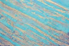 Sky blue grunge venetian plaster background Stock Image