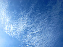 Sky. Blue Sky light cloud white Royalty Free Stock Image