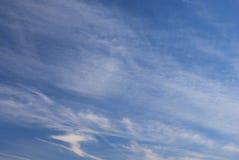 Sky. Blue sky in Morning,Beijing, China Stock Photo