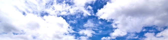 Sky blue nature for background Stock Image