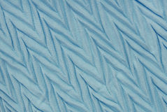 Sky-blue pleated  viscous  textile Royalty Free Stock Photography