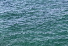 Sky-blue sea water. In Adriatic Stock Photo