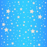 Sky blue star background Royalty Free Stock Photo