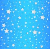 Sky blue star background Royalty Free Stock Photo