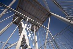 Sky blue steel Royalty Free Stock Photo