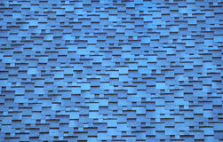 The sky-blue tiles roof Royalty Free Stock Photo