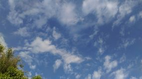 Sky. Blue sky and white cloud Royalty Free Stock Photo