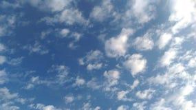 Sky. Blue sky and white cloud Stock Photos