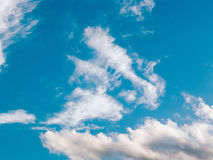 Sky. Blue sky with white clouds in summer Royalty Free Stock Photo