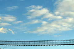 Sky bridge Stock Images