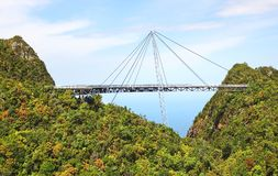 Sky bridge. Langkawi Stock Image