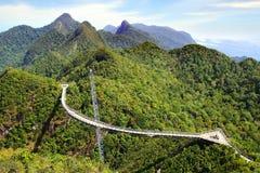 Sky bridge. Langkawi Royalty Free Stock Images