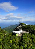 Sky Bridge. Wellknown landmark in Langkawi Island, Malaysia, Asia royalty free stock photo