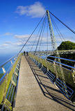 Sky Bridge. Wellknown landmark in Langkawi Island, Malaysia, Asia royalty free stock photography