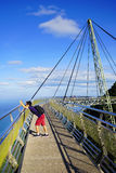 Sky Bridge. Wellknown landmark in Langkawi Island, Malaysia, Asia stock photography