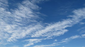 Sky. Bright blue sky on a crisp winter day Royalty Free Stock Images
