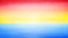 Sky bright colorful horizontal banner. Sunrise or sea sunset blurred background. Morning or evening sea and sky blurred watercolor. Texture. Empty sun abstract Royalty Free Stock Photo