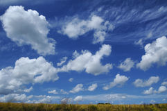 Sky of Brittany (France) Royalty Free Stock Photos