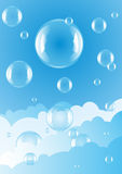 Sky bubble Royalty Free Stock Photos