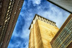 Sky, Building, Landmark, Yellow stock photo