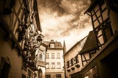 Sky, Building, Street, House Stock Photos