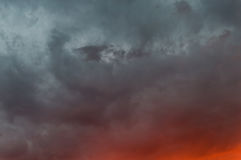 Sky burning,sunrise,sunset background Royalty Free Stock Photo