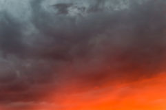 Sky burning,sunrise,sunset background Royalty Free Stock Photography
