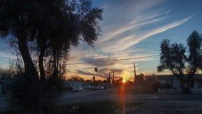Sky. Cali sunset hemet sky hdr Royalty Free Stock Photography