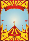 Sky circus big top Stock Image