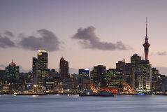 Sky City of Auckland, New Zealand. Sky City of Auckland, North Island of New Zealand Royalty Free Stock Images