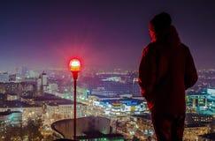 Sky, City, Urban Area, Night royalty free stock photos