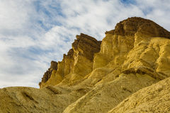 Sky and Cliffs Death Valley Stock Photography