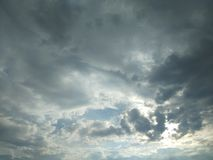 Sky. And cloud Royalty Free Stock Photo
