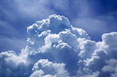 Sky and cloud. A large cloud in the sky Royalty Free Stock Images