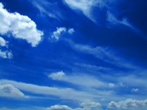 Sky with cloud Royalty Free Stock Photos