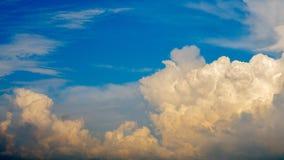 Sky cloud Stock Image