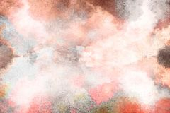 Sky and cloud abstract illustration art background,. Mixed color Stock Illustration