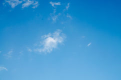 Sky. And cloud background Royalty Free Stock Photo