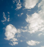 Sky. And cloud background stock images