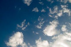 Sky. And cloud background Stock Image