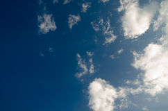 Sky. And cloud background royalty free stock photography