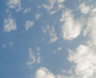 Sky. And cloud background stock photos
