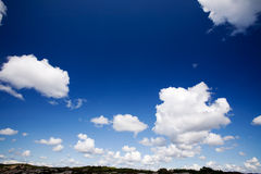 Sky Cloud Background Royalty Free Stock Photography