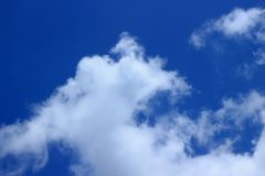 Sky and cloud background Royalty Free Stock Photo