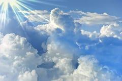 Sky cloud background image Stock Photo