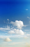 Sky cloud background image Royalty Free Stock Photos