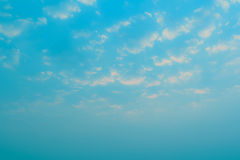 Sky and cloud. Background of sky and cloud in the morning Royalty Free Stock Image