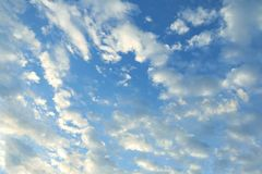Sky, cloud blue sky background. Cloud blue sky background, sky Stock Photos