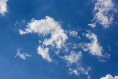 Sky with cloud. Blue sky with cloud, sky background Stock Photos