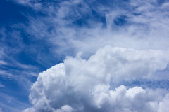 Sky. Cloud,blue,winter,clouds Stock Photography